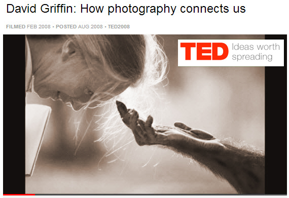 TED Talks on How Photography Connects Us
